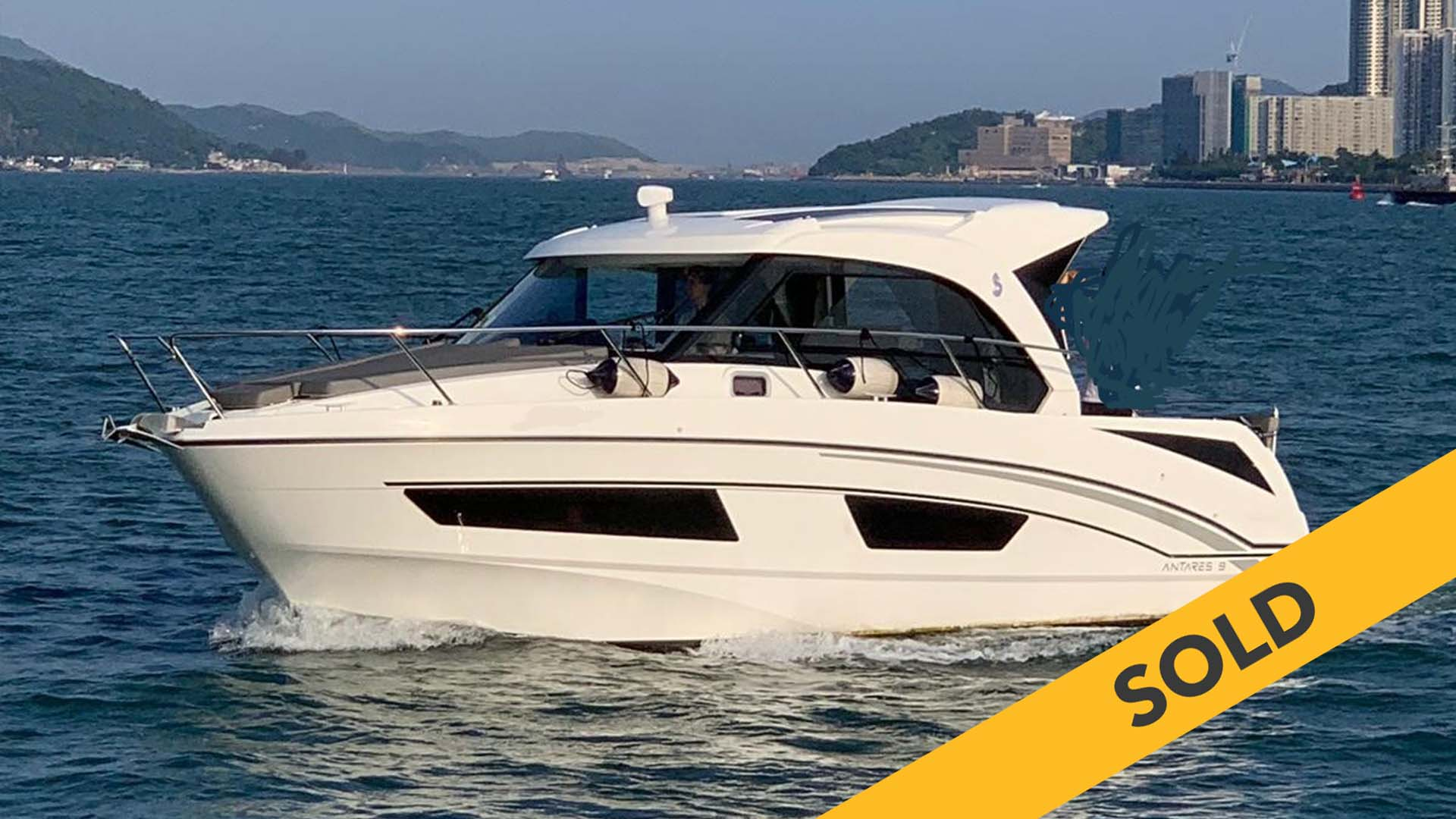 2018 BENETEAU ANTARES 9 (SOLD)