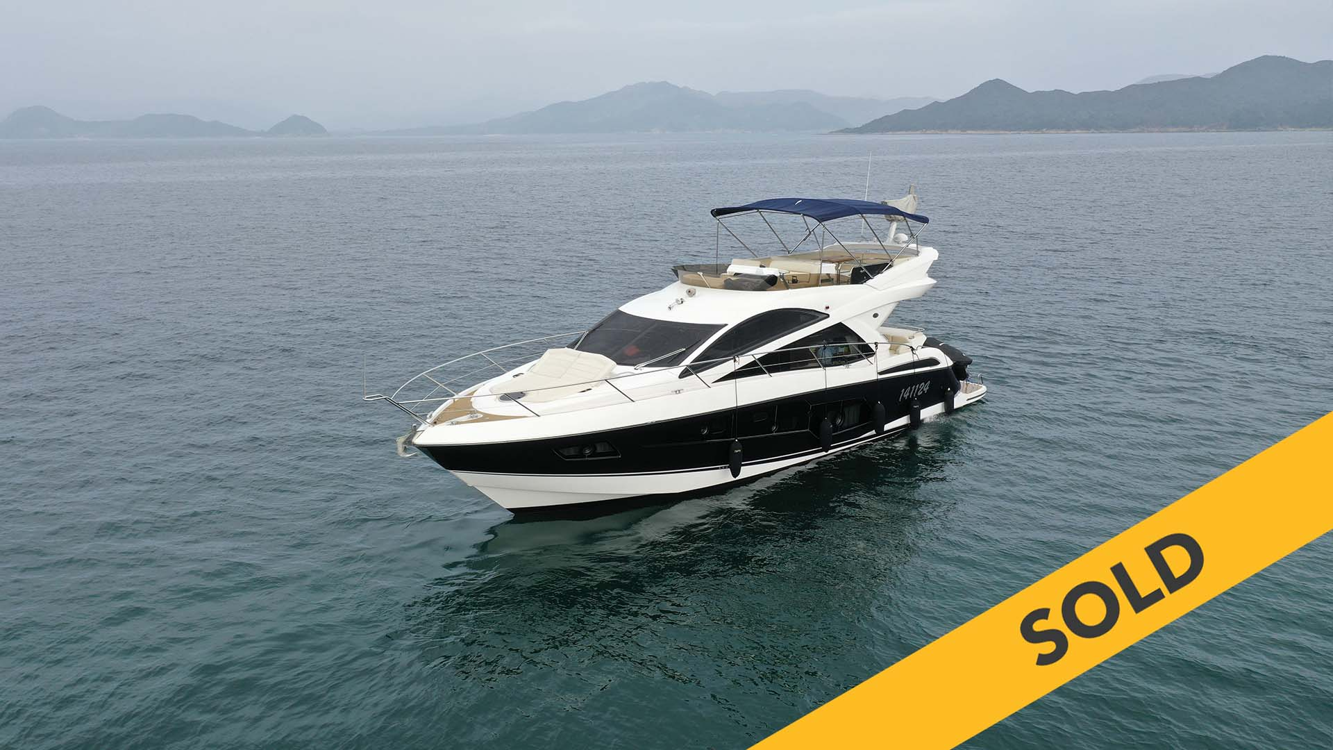 2014 SUNSEEKER MANHATTAN 55 (SOLD)