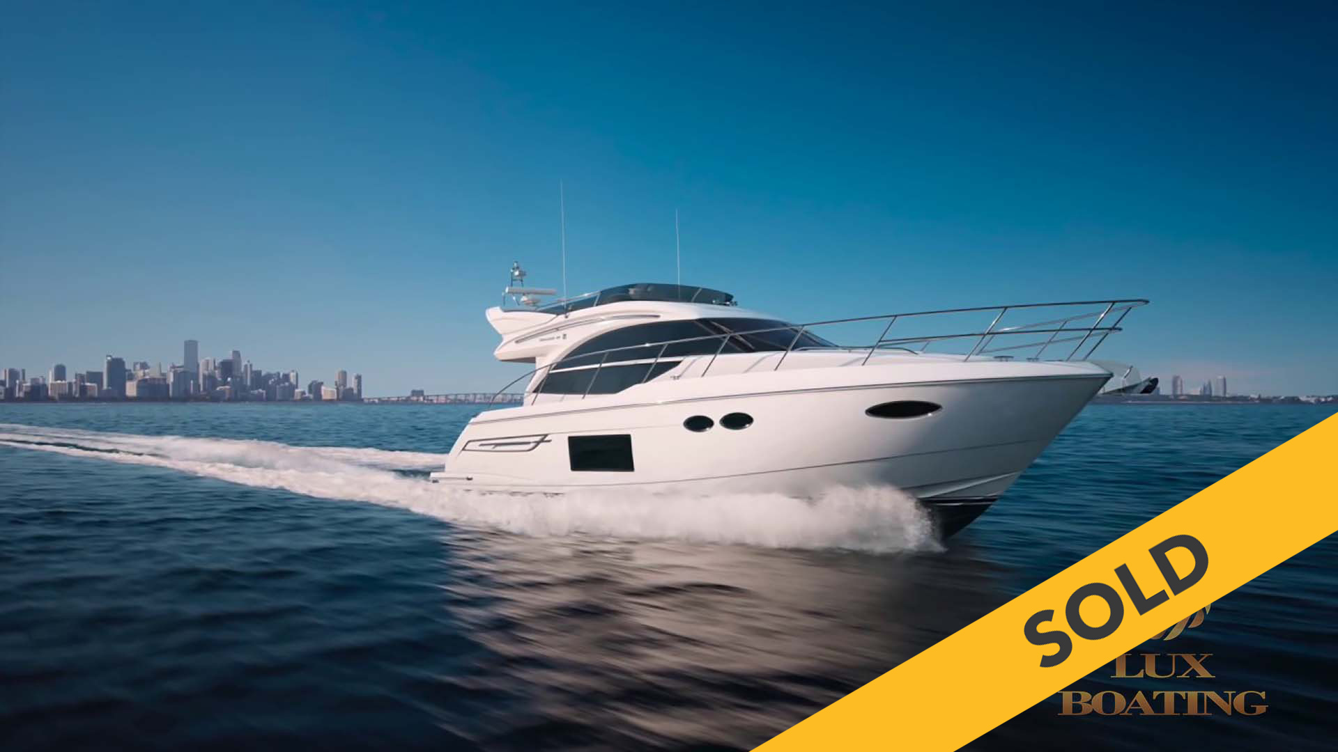 2018 PRINCESS 49 (SOLD)