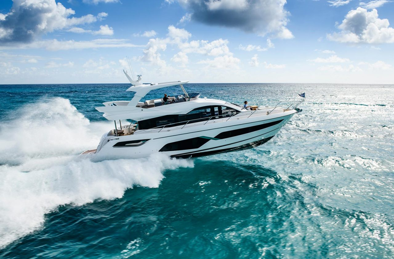 2021 SUNSEEKER MANHATTAN 68 - STOCK BOAT
