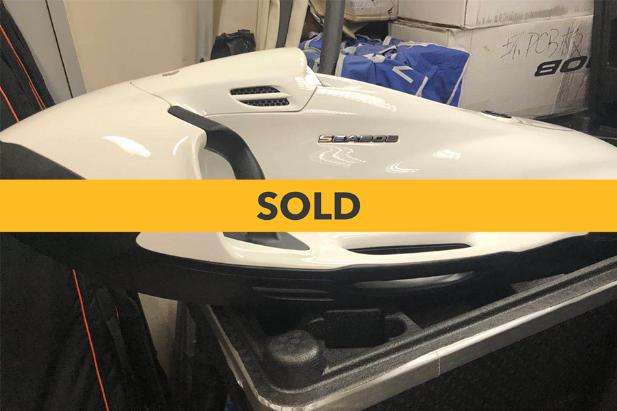2017 SEABOB F5S WHITE (90% USED)